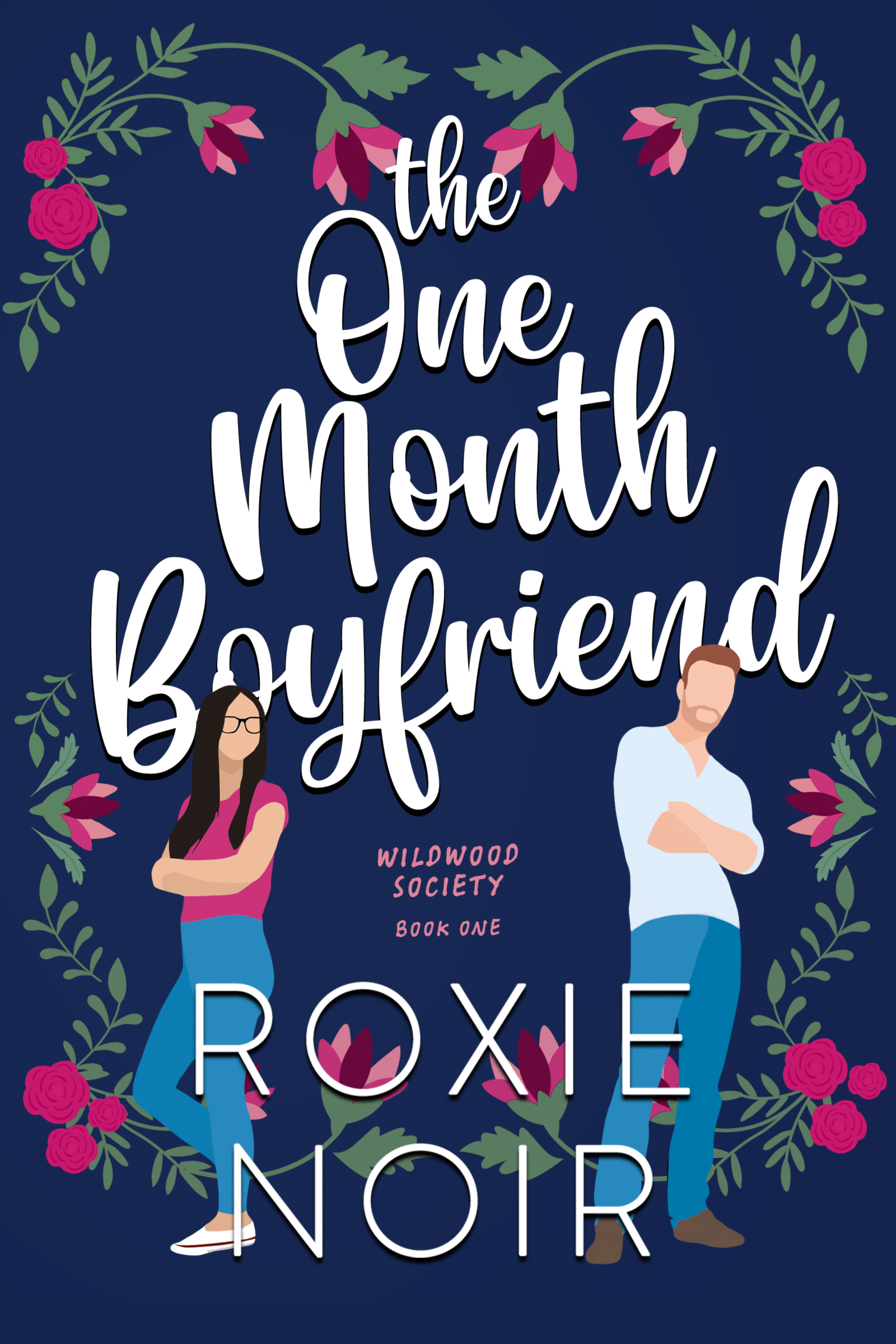 Cover Reveal: One Month Boyfriend by Roxie Noir