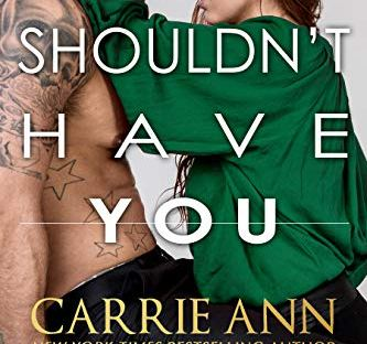 Shouldn't Have You by Carrie Ann Ryan - Fractured Connections book 2