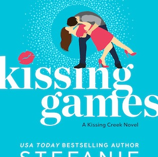 Cover Reveal: Kissing Games by Stefanie London