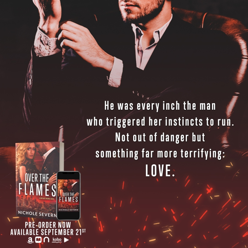 Over the Flames by Nichole Severn